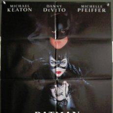 Cine: YK39D BATMAN VUELVE TIM BURTON MICHAEL KEATON MICHELLE PFEIFFER POSTER ORIGINAL 70X100 ESTRENO. Lote 117129451