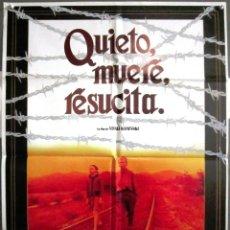 Cine: QS90 QUIETO MUERE RESUCITA VITALI KANEVSKY CINE SOVIETICO POSTER ORIGINAL 70X100 ESTRENO. Lote 117140183