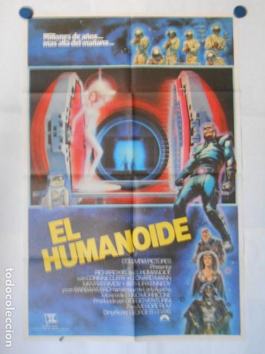 EL HUMANOIDE - CARTEL ORIGINAL 70 X 100 (Cine - Posters y Carteles - Terror)