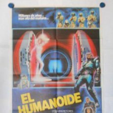 Cine: EL HUMANOIDE - CARTEL ORIGINAL 70 X 100. Lote 117210303