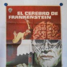Cine: EL CEREBRO DE FRANKENSTEIN - CARTEL ORIGINAL 70 X 100. Lote 117210415