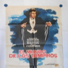 Cine: EL MUNDO DE LOS VAMPIROS - CARTEL ORIGINAL 70 X 100. Lote 117210527