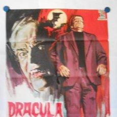 Cine: DRACULA CONTRA FRANKENSTEIN- CARTEL ORIGINAL 70 X 100. Lote 117210571
