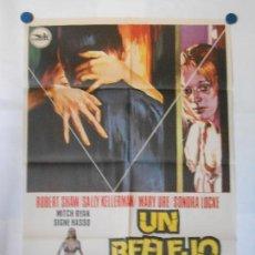 Cine: UN REFLEJO DEL MIEDO - CARTEL ORIGINAL 70 X 100. Lote 117210867