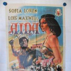 Cine: AIDA - JUANINO - CARTEL ORIGINAL 70 X 100. Lote 117238015