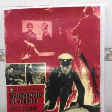 Cine: CARTEL ORIGINAL CINE ITALIA SPIONACCIO AL VERTICE 1960 ERNEST BORGNINE. Lote 117374171