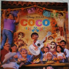Cine: PÓSTER ORIGINAL COCO (PÍXAR). Lote 194543517