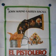 Cine: EL PISTOLERO - CARTEL ORIGINAL 70 X 100. Lote 117822755