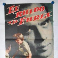 Cine: EL RUGIDO Y LA FURIA - 1959 - CARTEL ORIGINAL 70 X 100. Lote 117823583