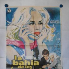 Cine: LA BAHIA DE LOS ANGELES - CARTEL ORIGINAL 70 X 100. Lote 117825343