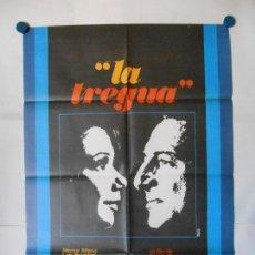 Cine: LA TREGUA - CARTEL ORIGINAL 70 X 100. Lote 118307903