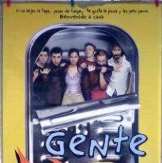 Cine: ORIGINALES DE CINE: GENTE PEZ (JUAN DÍAZ, DAVID TENREIRO, DIANA PALAZÓN) - 70X100. Lote 118355359