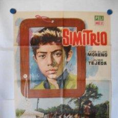 Cine: SIMITRIO - CARTEL ORIGINAL 70 X 100. Lote 118355519