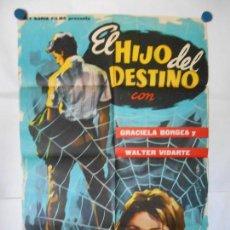 Cine: EL HIJO DEL DESTINO - CARTEL ORIGINAL 70 X 100. Lote 118355639
