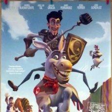 Cine: ORIGINALES DE CINE: DONKEY XOTE (JOSEP POZO, 2007) - 70X100. Lote 118357695