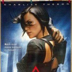 Cine: ORIGINALES DE CINE: AEONFLUX (CHARLIZE THERON) - 70X100. Lote 118358539