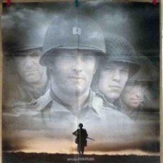 Cine: ORIGINALES DE CINE: SALVAR AL SOLDADO RYAN (STEVEN SPIELBERG 1998. TOM HANKS, TOM SIZEMORE) - 70X100. Lote 118362275