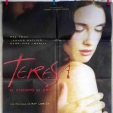 Cine: ORIGINALES DE CINE: TERESA, EL CUERPO DE CRISTO (PAZ VEGA) - 70X100. Lote 118364867