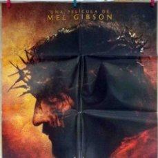 Cine: ORIGINALES DE CINE: LA PASIÓN DE CRISTO (MEL GIBSON) - 70X100. Lote 118365015