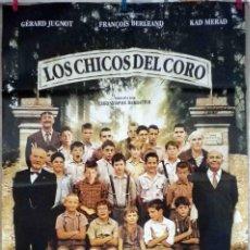Cine: ORIGINALES DE CINE: LOS CHICOS DEL CORO (FRANCIA. CHRISTOPHE BARRATIER, 2004) - 70X100. Lote 118365183
