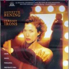 Cine: ORIGINALES DE CINE: CONOCIENDO A JULIA (ANNETTE BENING, JEREMY IRONS, SHAUN EVANS) - 70X100. Lote 118366679