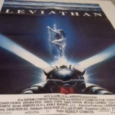 Cine: CARTEL POSTER LEVIATHAN - 84 X 59. Lote 118421975