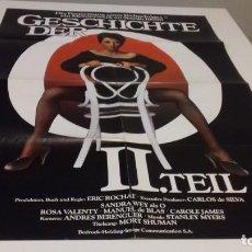 Cine: CARTEL POSTER HISTORIA DE O SEGUNDA PARTE - 84 X 59. Lote 118422211
