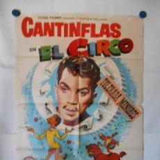 Cine: EL CIRCO - CANTINFLAS - CARTEL ORIGINAL 70 X 100. Lote 118499063