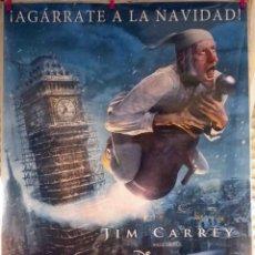 Cine: ORIGINALES DE CINE: CUENTO DE NAVIDAD (JIM CARREY) - 70X100 EN ROLLO.. Lote 118594115