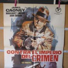 Cine: GND3410 CONTRA EL IMPERIO DEL CRIMEN. Lote 118688255