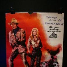 Cine: ORIGINAL POSTER CARTEL DE CINE LADRONES DE TRENES 70 X 100. Lote 118800779