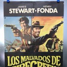 Cine: LOS MALVADOS DE FIRECREEK - JAMES STEWART, HENRY FONDA - AÑO 1969. Lote 118811511