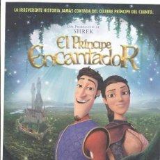 Cine: *EL PRINCIPE ENCANTADOR* - HOJA PUBLICITARIA PELÍCULA 2018. Lote 119037907