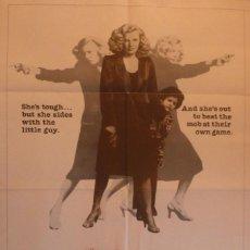 Cine: GLORIA MOVIE POSTER,1 SHEET,ORIGINAL,1980,COLUMBIA PICTURES.. Lote 119047063