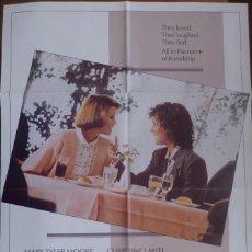 Cine: JUST BETWEEN FRIENDS MOVIE POSTER,ORIGINAL,PANAVISION,1986.. Lote 119049719