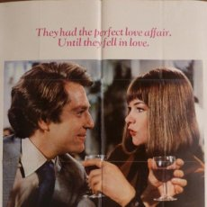 Cine: A TOUCH OF CLASS MOVIE POSTER,TECHNICOLOR,ORIGINAL,ONE SHEET,PANAVISION,1973.. Lote 119306999