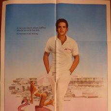 Cine: THE FLAMINGO KID MOVIE POSTER,1984,ONE SHEET,ORIGINAL,TWENTIETH CENTURY-FOX.. Lote 119390363