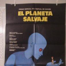 Cine: CARTEL CINE ORIG EL PLANETA SALVAJE (1973) 70X100 / RENÉ LALOUX. Lote 119460371