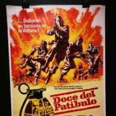 Cine: ORIGINAL POSTER CARTEL DE CINE DOCE DEL PATIBULO 70 X 100. Lote 119626927