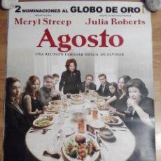 Cine: AGOSTO - APROX 70X100 CARTEL ORIGINAL CINE (L20). Lote 54864802