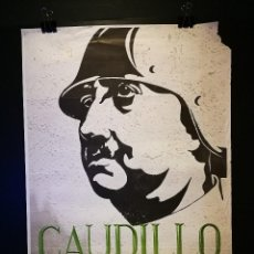 Cine: ORIGINAL POSTER CARTEL DE CINE CAUDILLO 70 X 100. Lote 119859199