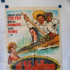 Cine: EL VIOLETERO - CARTEL ORIGINAL 70 X 100. Lote 119862359