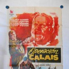 Cine: OPERACION CALAIS - 1961 - JANO - CARTEL ORIGINAL 70 X 100. Lote 119867315