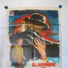 Cine: EL HOMBRE DE PAJA - 1963 - JANO - CARTEL ORIGINAL 70 X 100. Lote 119867531