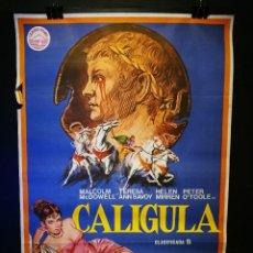 Cine: ORIGINAL POSTER CARTEL DE CINE CALIGULA 70 X 100. Lote 119944107