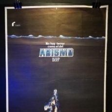 Cine: ORIGINAL POSTER CARTEL DE CINE ABISMO THE DEEP 70 X 100. Lote 119950451