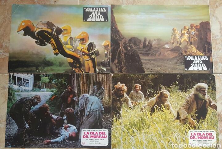 Cine: LOTE DE 54 FOTOCROMOS LOBBY CARDS CINE TERROR CIENCIA-FICCIÓN GIALLO KINKI DROGAS EROTICO - Foto 2 - 120032532