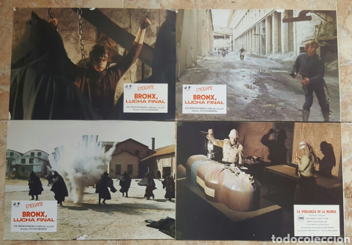 Cine: LOTE DE 54 FOTOCROMOS LOBBY CARDS CINE TERROR CIENCIA-FICCIÓN GIALLO KINKI DROGAS EROTICO - Foto 5 - 120032532