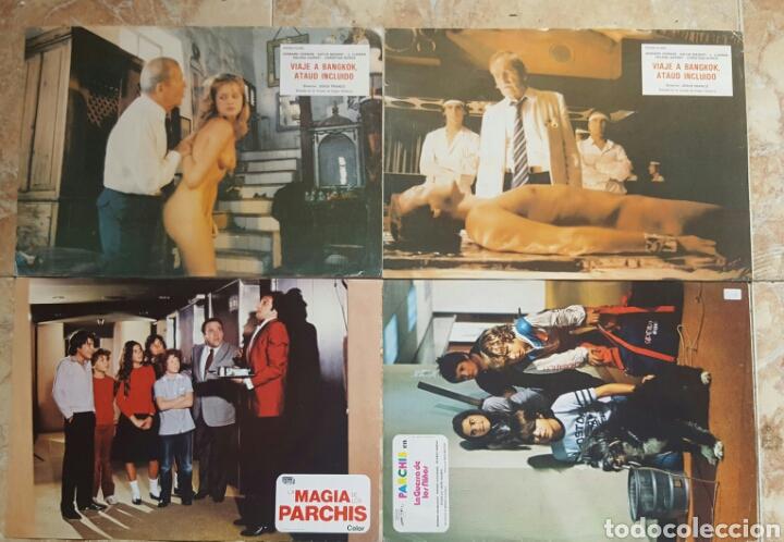 Cine: LOTE DE 54 FOTOCROMOS LOBBY CARDS CINE TERROR CIENCIA-FICCIÓN GIALLO KINKI DROGAS EROTICO - Foto 7 - 120032532