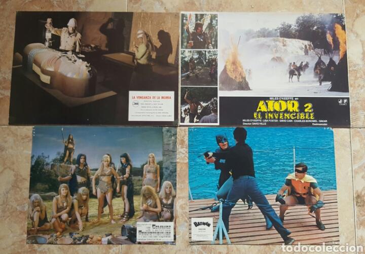 Cine: LOTE DE 54 FOTOCROMOS LOBBY CARDS CINE TERROR CIENCIA-FICCIÓN GIALLO KINKI DROGAS EROTICO - Foto 9 - 120032532